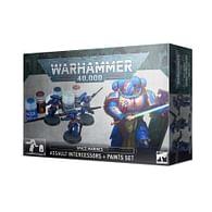 Warhammer 40000: Space Marines Assault Intercessors + Paints Set