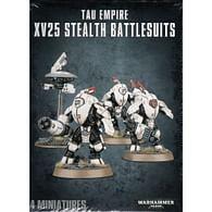 Warhammer 40000: Tau XV25 Stealth Battlesuits