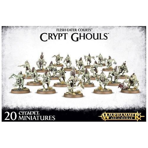 Warhammer: Age of Sigmar - Flesh-Eater Courts Crypt Ghouls