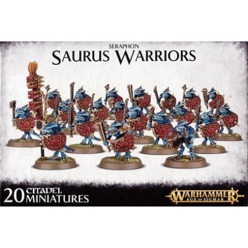 Warhammer: Age of Sigmar - Seraphon Saurus Warriors