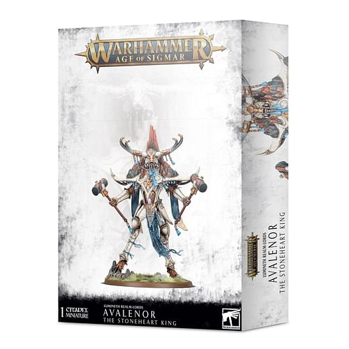Warhammer AoS: Lumineth Realm-Lords: Avalenor the Stoneheart King