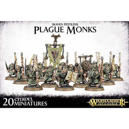 Warhammer AoS: Skaven Pestilens Plague Monks