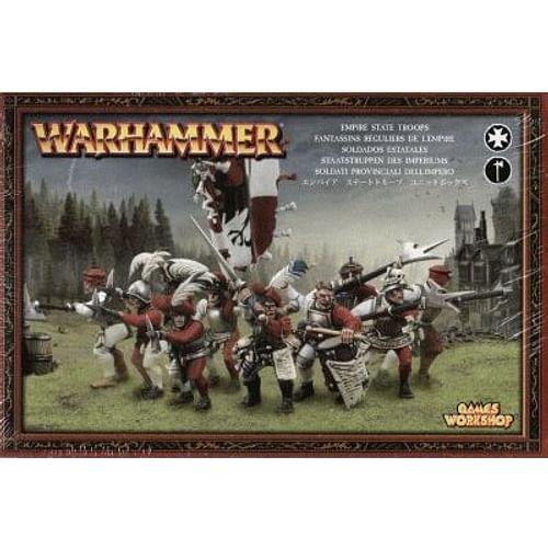 Warhammer Fantasy Battle: Empire State Troops