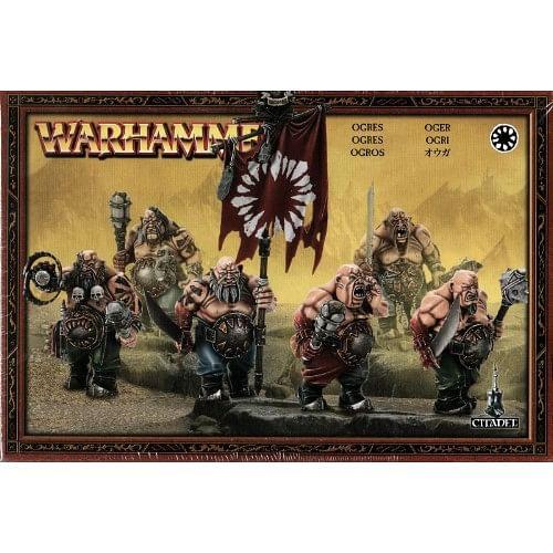 Warhammer Fantasy Battle: Ogre Kingdoms - Ogres