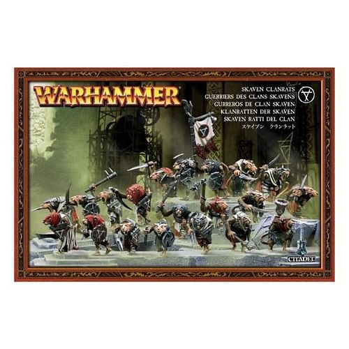 Warhammer Fantasy Battle: Skaven Clanrats