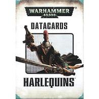 Warhammer 40000: Datacards Harlequins - old