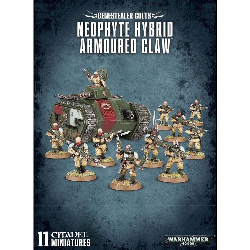 Warhammer 40000: Genestealer Cults Neophyte Hybrid Armoured Claw