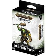 Warhammer Age of Sigmar: Destruction Campaign Deck