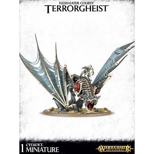 Warhammer: Age of Sigmar - Flesh-Eater Courts Terrorgheist / Zombie Dragon