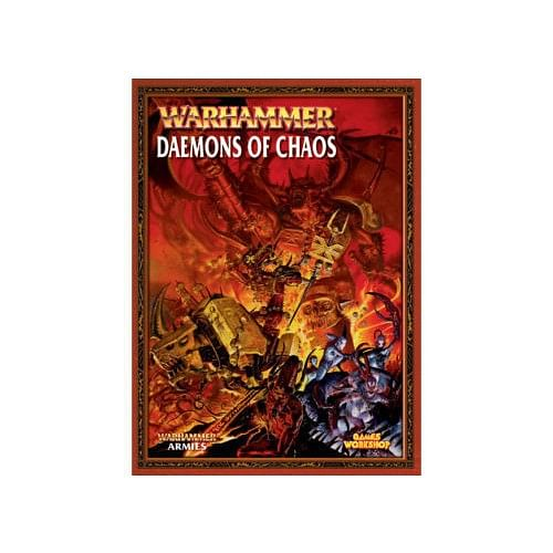 Warhammer Fantasy Battle: Army Book Daemons of Chaos old