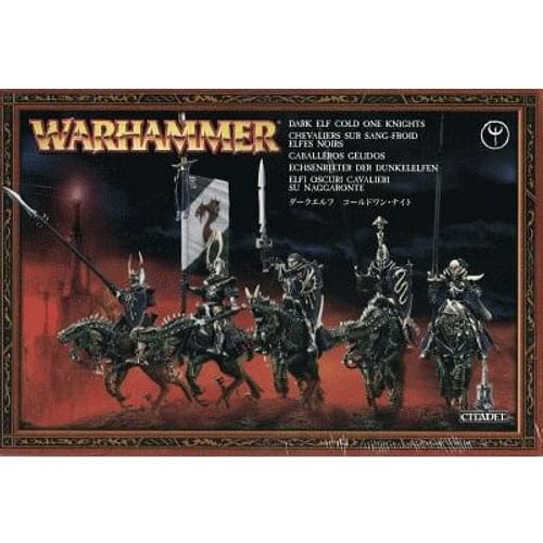 Warhammer Fantasy Battle: Dark Elf Cold One Knights