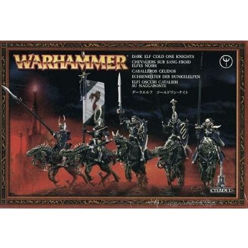 Warhammer Fantasy Battle: Dark Elf Cold One Knights