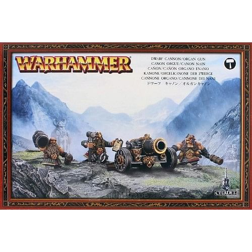 Warhammer Fantasy Battle: Dwarf Cannon / Organ Gun