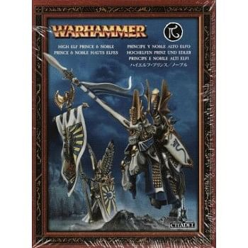 Warhammer Fantasy Battle: High Elf Prince and Noble