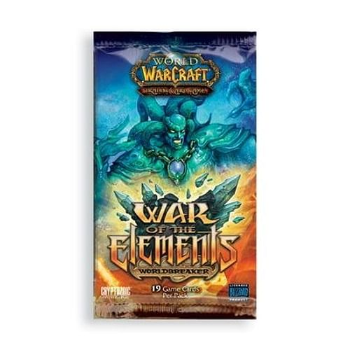 World of Warcraft TCG: War of the Elements Booster