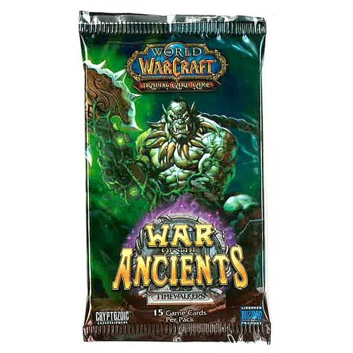 World of Warcraft TCG: War of the Ancients Booster