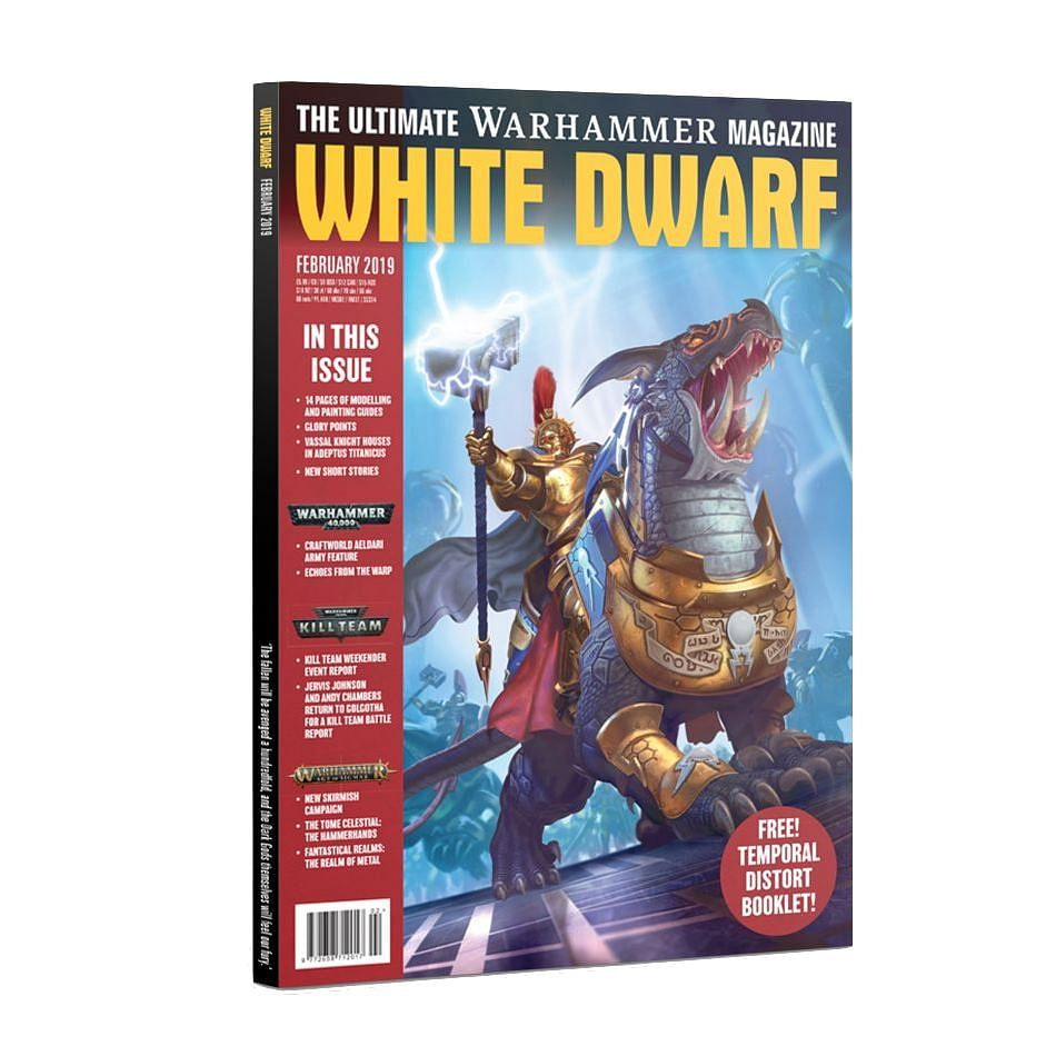 White Dwarf Februar 2019