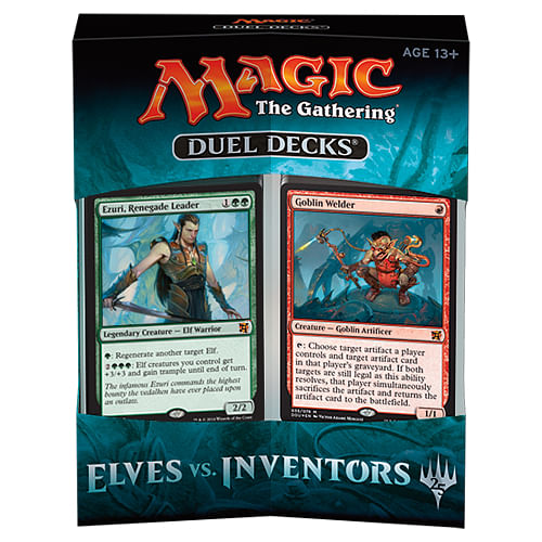 Magic: The Gathering - Elves vs Inventors Duel Deck