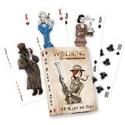 Hrací karty Wolsung