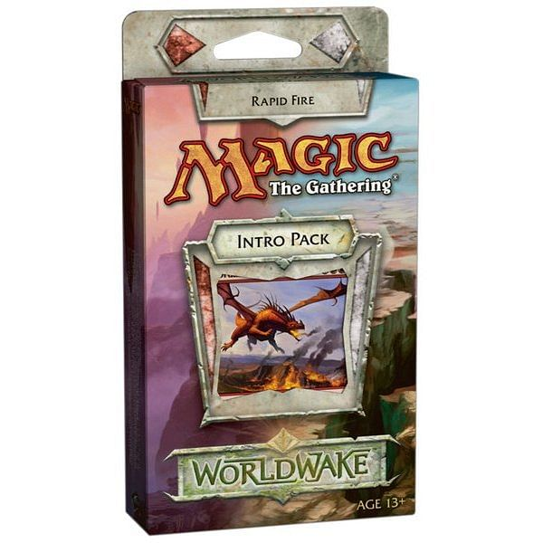 Magic: The Gathering - Worldwake Intro Pack: Rapid Fire