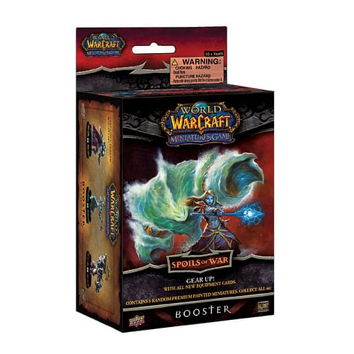 World of Warcraft Miniatures: Spoils Of War - booster