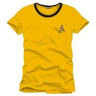 Tričko Star Trek - Uniforma (žluté)
