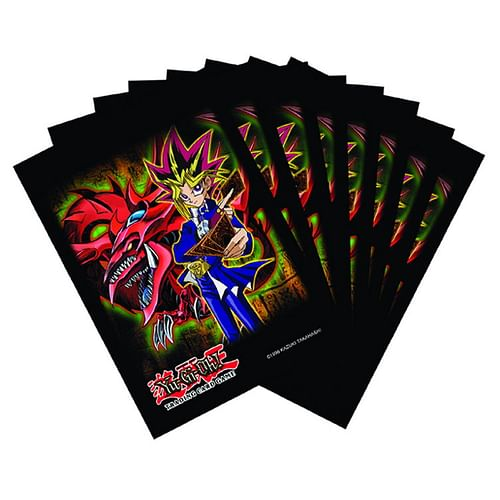 Obaly na karty Yu-Gi-Oh! Yugi & Slifer 63 x 90 mm (Konami)