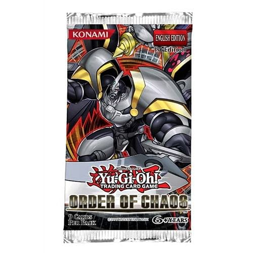 Yu-Gi-Oh! Order of Chaos booster