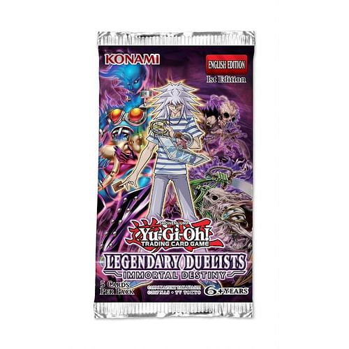 Yu-Gi-Oh! Legendary Duelists: Immortal Destiny Booster