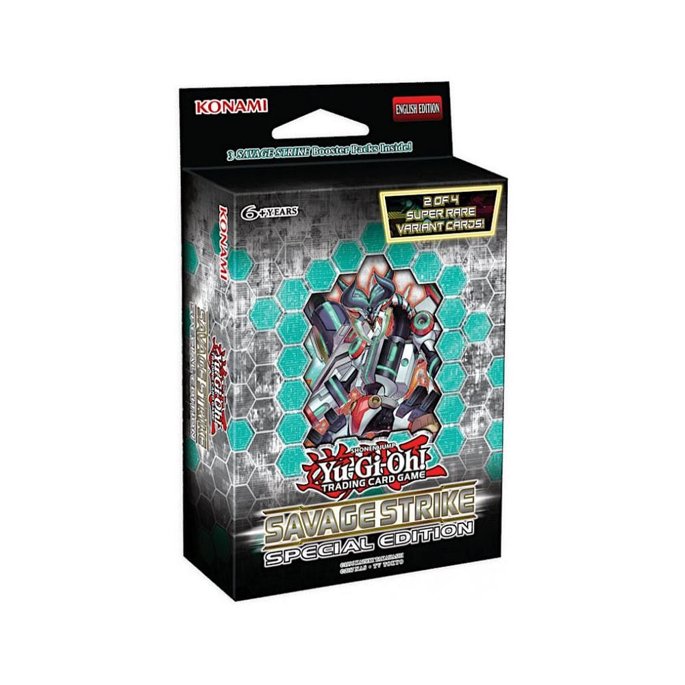 Yu-Gi-Oh! Savage Strike Special Edition Booster