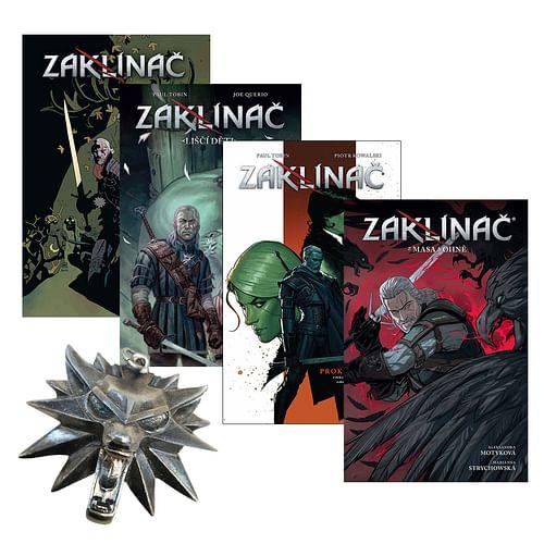 Zaklínač komiks - komplet 4 knih s dárkem