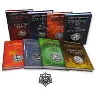Zaklínač - komplet 8 knih (vázané) + Zaklínačský medailon