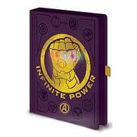 Zápisník Avengers Infinity War LED