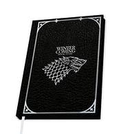Zápisník Game of Thrones - Stark Premium