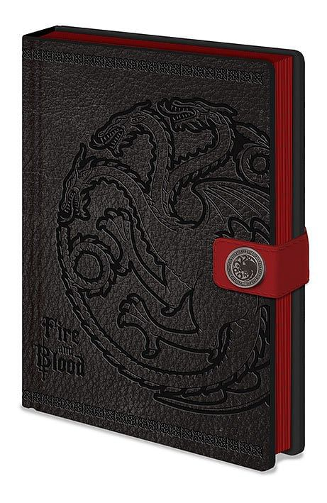 Pyramid International Game of Thrones zápisník A5 Premium Targaryen