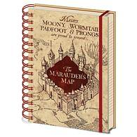 Zápisník Harry Potter - Pobertův plánek
