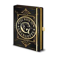Zápisník Harry Potter Premium - Gringotts