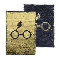 Zápisník Harry Potter - zlatý Harry