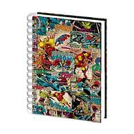 Zápisník Marvel - Comic Splash 3D