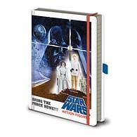 Zápisník Star Wars - Action Figures
