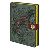 Zápisník Star Wars - Boba Fett Art