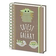 Zápisník Star Wars: Mandalorian - Cutest in the Galaxy
