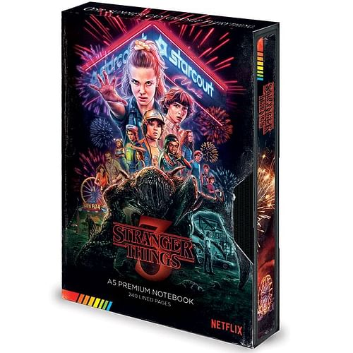 Pyramid International Zápisník Stranger Things S3 VHS A5
