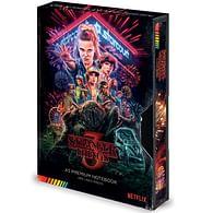 Zápisník Stranger Things S3 VHS