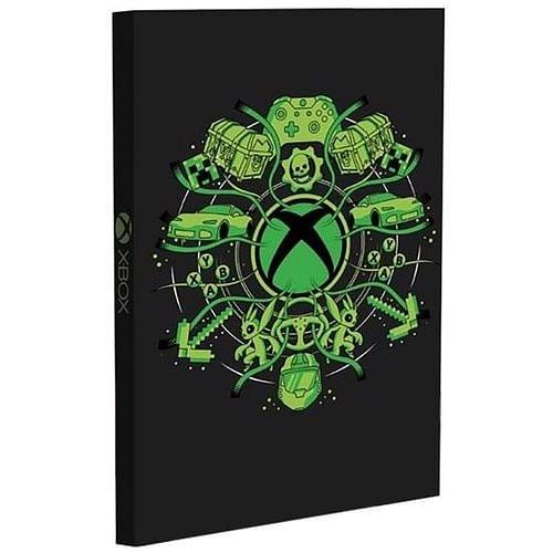 Paladone Zápisník Xbox, svítící A5