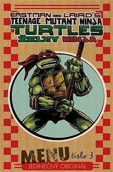 Želvy Ninja: Menu číslo 3 - Peter Laird