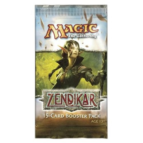 Magic: The Gathering - Zendikar Booster