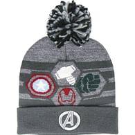 Zimní čepice Avengers - Pompon Logo
