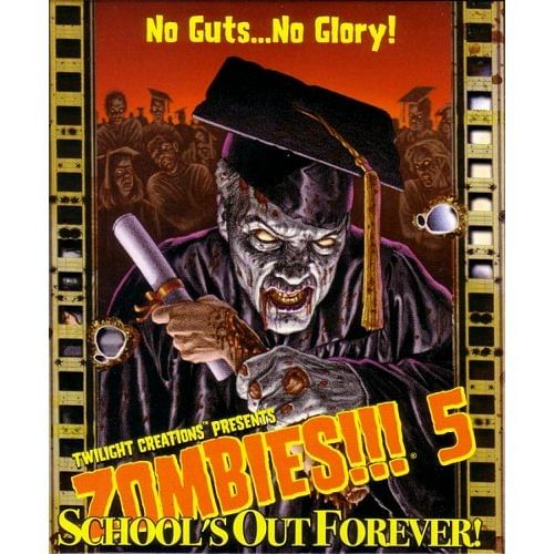 Zombies!!! 5: School's Out Forever - druhá edice